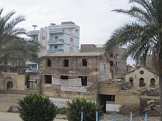 Fuwwah City in Kafr El Sheikh, Egypt