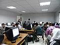 ورشة تدريبية عن الويكيبيديا في مدرسة البيان في الاردن15.JPG
