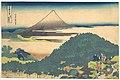 冨嶽三十六景 青山円座松-Cushion Pine at Aoyama (Aoyama enza no matsu), from the series Thirty-six Views of Mount Fuji (Fugaku sanjūrokkei) MET DP141084.jpg
