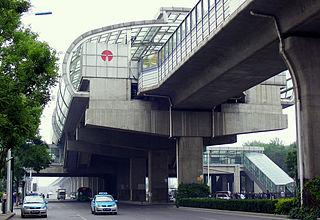 Benxilu station metro station in Tianjin, China