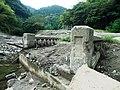 犬鳴谷村の下谷橋跡.jpg