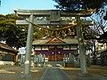 田坐神社 松原市田井城5丁目 Taza-jinja 2012.1.14 - panoramio.jpg