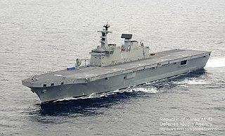 Dokdo-class amphibious assault ship