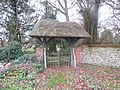 -2019-01-07 Lychgate in the churchyard, Church of Saint Margaret's, Paston.JPG