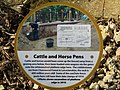 -2019-02-26 Information sign next to the cattle and horse pens, the old railway station, Honing.JPG