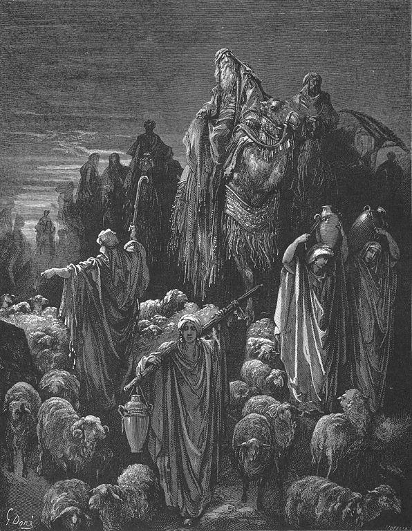 야곱이 애굽으로 감 (귀스타브 도레, Gustave doré)