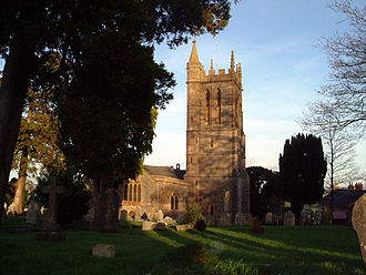 Stalbridge - Image: 050113 02 Stalbridge church