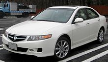 Acura TSX Wikipedia - Tsx acura for sale