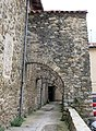 072 Santa Maria de Camprodon, contraforts del mur oest.JPG