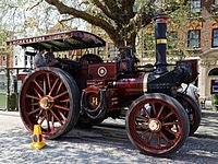 08.05.2016 Charles Burrell & Sons traction engine Horsham West Sussex England 1.jpg