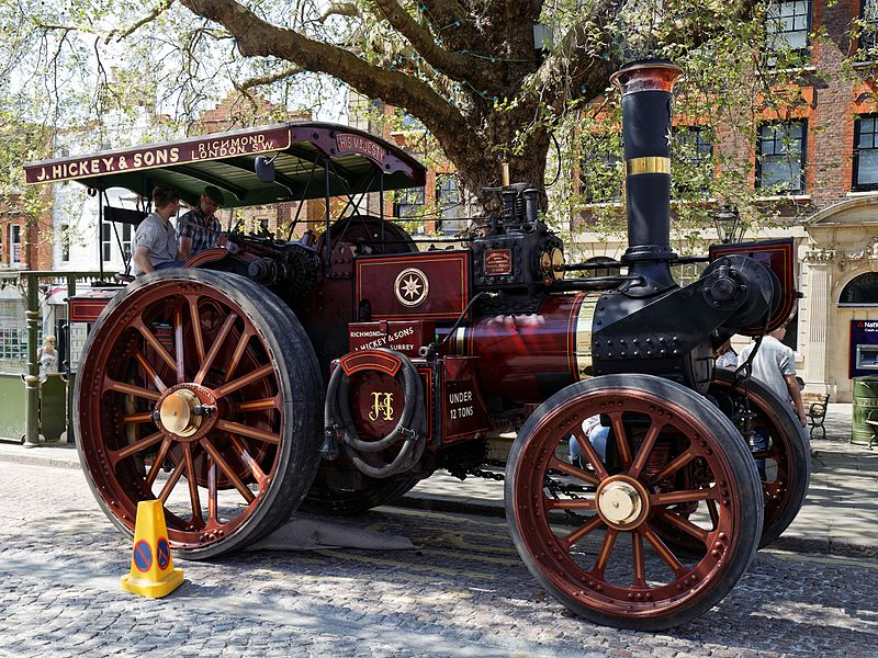 File:08.05.2016 Charles Burrell & Sons traction engine Horsham West Sussex England 1.jpg