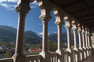 Trento - International Gothic Loggia of Buonconsiglio Castle