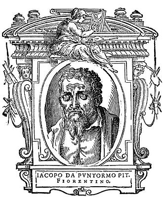 Pontormo - Illustration from Lives of the Most Excellent Painters, Sculptors, and Architects by Giorgio Vasari, 1568 edition