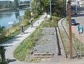 14 Véloroute de la Deûle à Marquette et terminus du tramway touristique.jpg