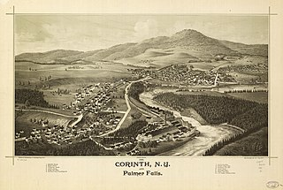 Corinth, New York Town in New York, United States