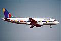 188ac - Air 2000 Airbus A320-214; G-OOAU@PMI;20.08.2002 (5702280473).jpg