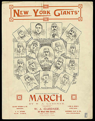 1895 New York Giants season - Image: 1895 New York Giants baseball team