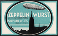 1909 -Zeppelinwurst-Wort-Bildmarke.png