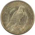 1921-1$-Peace dollar Revers.png