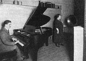 WHK (AM) - A soprano singer accompanied by pianist, broadcast over 8ACS in November 1921
