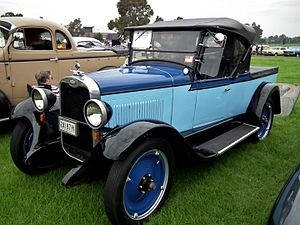 Roadster utility - Image: 1927 Chevrolet National roadster utility (7138113503)