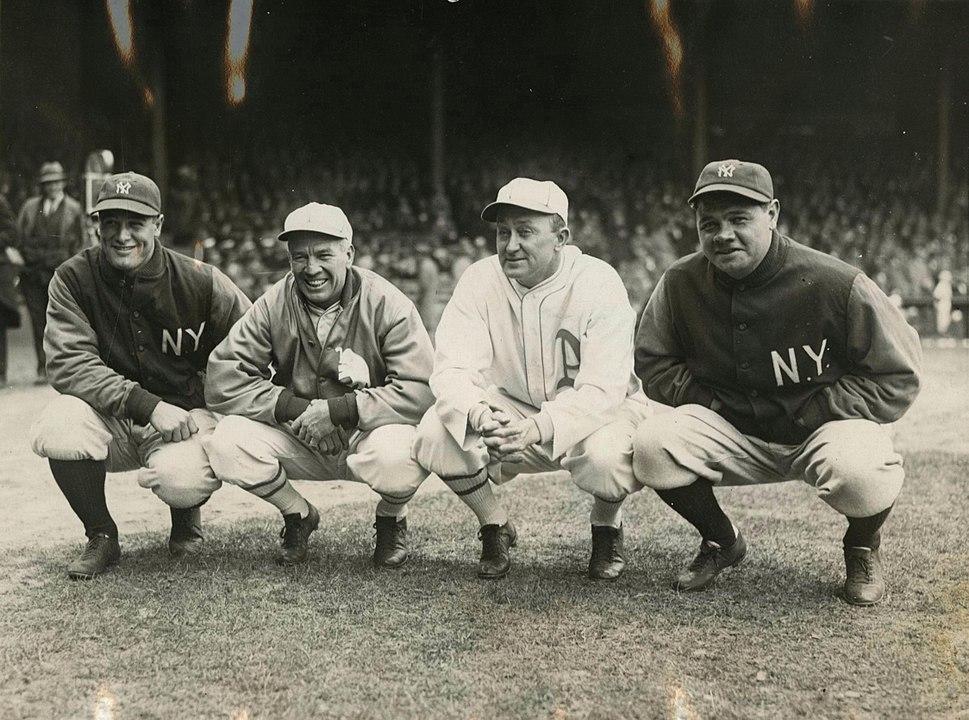 1928 Gehrig Speaker Cobb Ruth