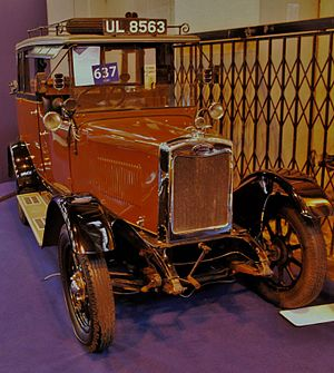 Morris Commercial Cars - 1929 Morris-Commercial International Taxicab Uncle Lima