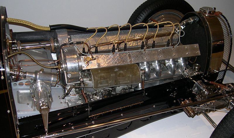 File:1933 Bugatti Type 59 Grand Prix engine.jpg