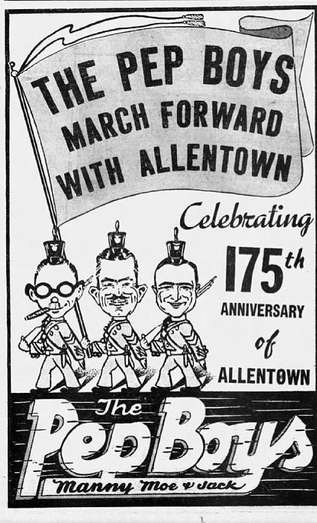 Moes Allentown Pa >> File 1937 Pep Boys 13 Sep Mc Allentown Pa Jpg Wikimedia Commons