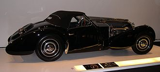 Bugatti Type 57 - 1937 Bugatti Type 57SC Gangloff Drop Head Coupe from the Ralph Lauren collection.