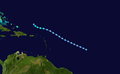 1938 Atlantic tropical storm 5 track.png