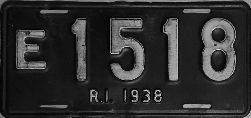 File:1938 Rhode Island license plate.JPG