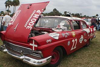 "Fireball Roberts - ""Fireball"" Roberts' 1957 NASCAR Ford"