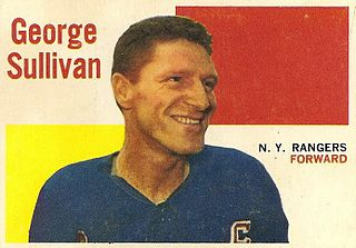 Red Sullivan Canadian ice hockey player