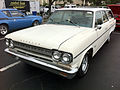 1966 Rambler Classic Cross Country station wagon at 2014-AMO-NC meet 1of2.jpg