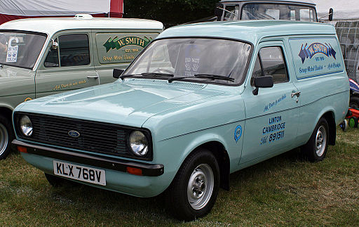1980 Ford Escort Van Mk II (W. Smith)