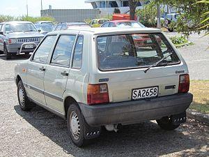 Fiat Uno - Fiat Uno 5-door