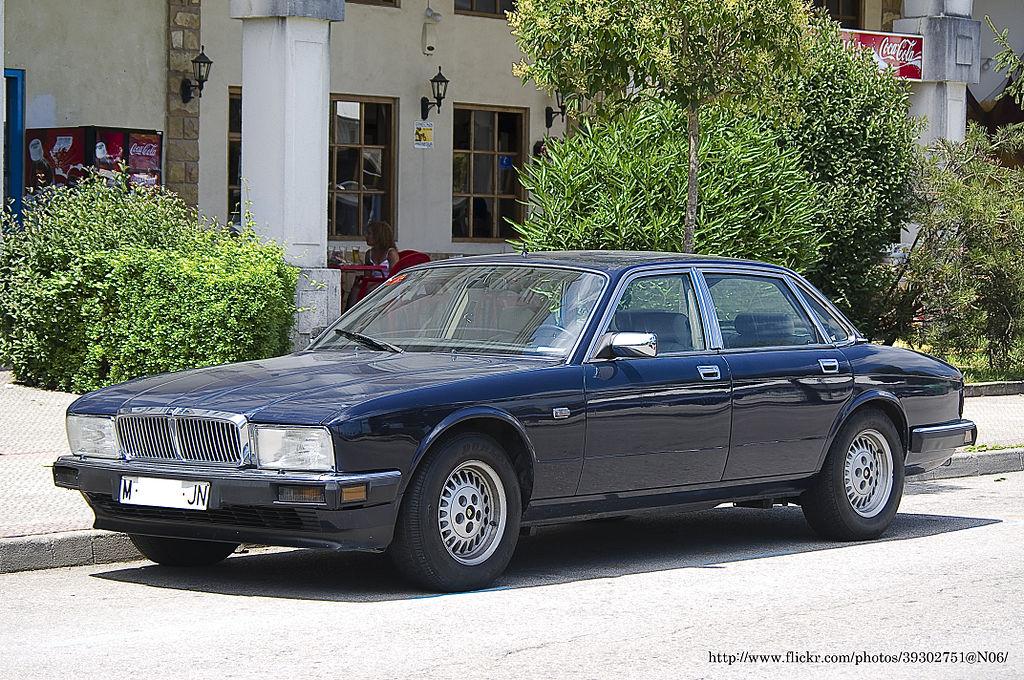 Jaguar XJ40 Sovereign segunda geração 1989   Jaguar xj40 ...