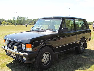 Charles Spencer King - CSK special edition Range Rover 1991