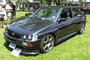 Sport compact - 1996 Ford Escort RS Cosworth at the 2008 Greenwich Concours d'Elegance in Greenwich, Connecticut.