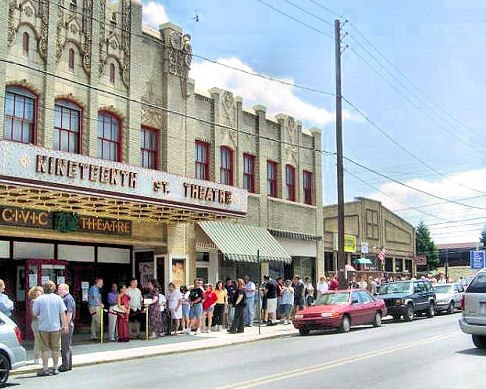 19th street theater Allentown PA