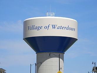 Waterdown, Ontario - Watertower in Waterdown