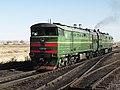 2ТЭ10М-2791, Казахстан, Карагандинская область, станция Распорядительная (Trainpix 96066).jpg