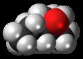 2-Methylpentan-2-ol molecule spacefill.png