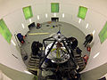 2. Aufbau der Kurzarmzentrifuge Installation of the DLR short-arm human centrifuge (8694451409).jpg