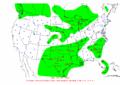 2002-10-09 24-hr Precipitation Map NOAA.png