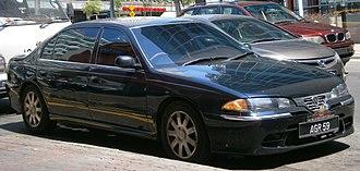 Proton Perdana (first generation) - Proton Perdana Executive V6 in Petaling Jaya, Malaysia.