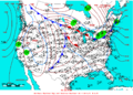 2005-01-25 Surface Weather Map NOAA.png