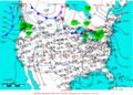 2006-01-07 Surface Weather Map NOAA.png