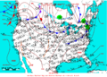 2006-04-13 Surface Weather Map NOAA.png